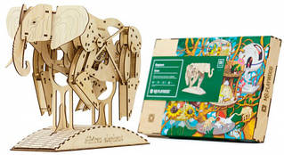 Слон Mr. Play Wood Коллекционная 3D-модель