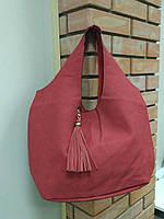 """Красивый набор из 2 сумок терракотового цвета """"Сильвиона"""", фото 1"""