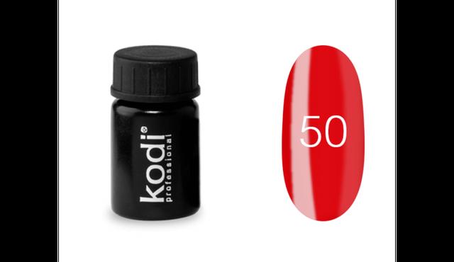 Гель-краска Kodi Professional №50 красный