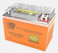 Outdo YTX4L-BS (iGEL) с индикатором заряда, аккумулятор,  12V 4Ah гелевый, 114x71x88 мм