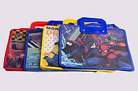Портфель детский с пластиковыми ручками, А4, в ассортименте