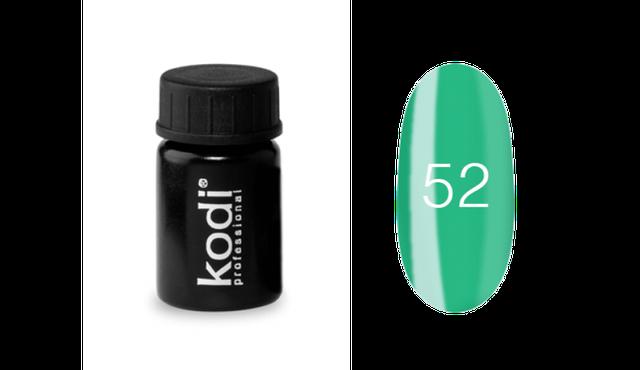 Гель-краска Kodi Professional №52 зеленый