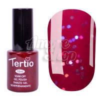 Гель-лак Tertio №167 (бордово-сиреневый, микроблеск), 10 мл
