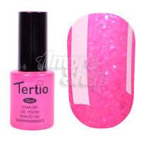 Гель-лак Tertio №168 (ярко-розовый, микроблеск), 10 мл
