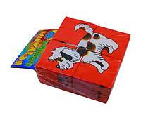 Детские кубики. Собери картинку. Домашние животные (KubikDoma)