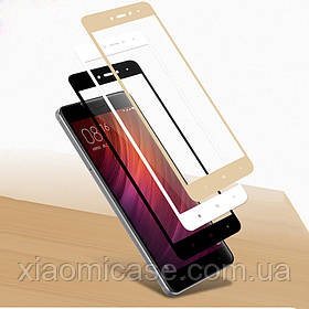Защитное 2D стекло для Xiaomi (Сяоми) Redmi Note 5 / Note 5 Pro (на весь экран)