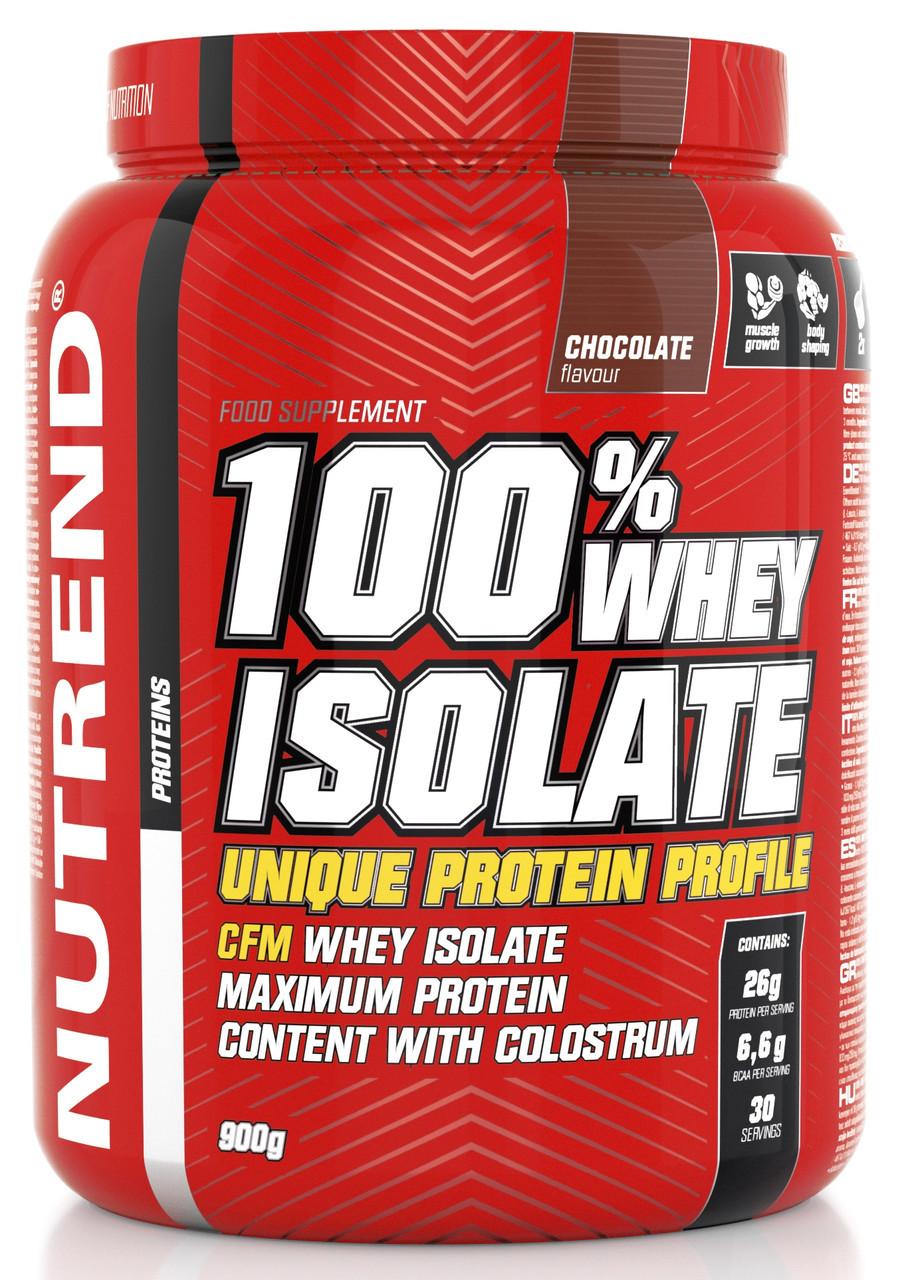Протеин Nutrend 100% Whey Isolate 900 g