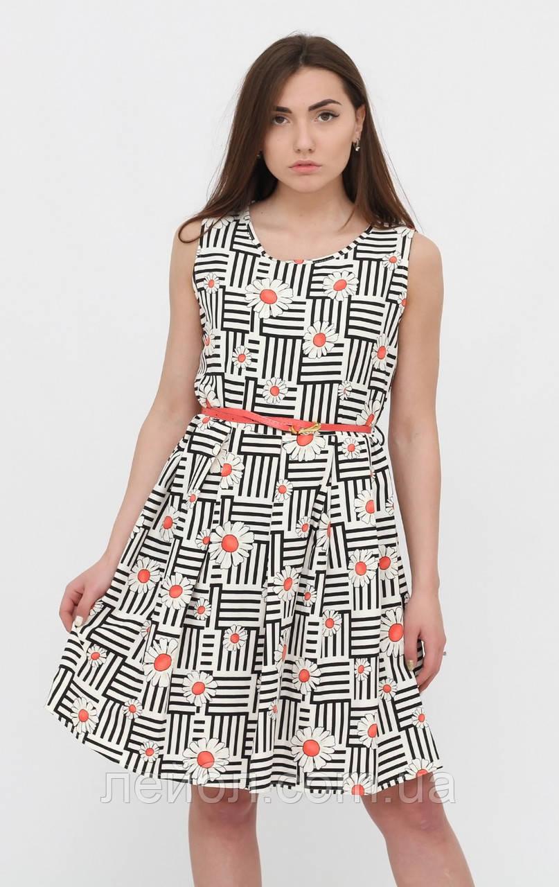 d18c026bcdd74 Летнее платье с коралловыми цветами. Турция. Разм.48. - интернет-магазин