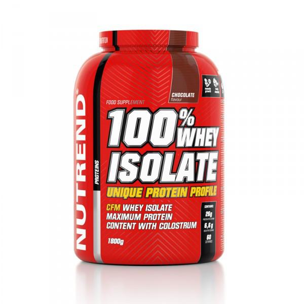 Протеин Nutrend 100% Whey Isolate 1800 g