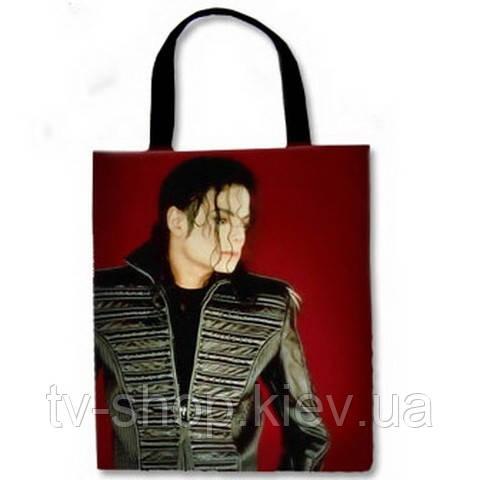 Сумка тканевая  Майкл Джексон