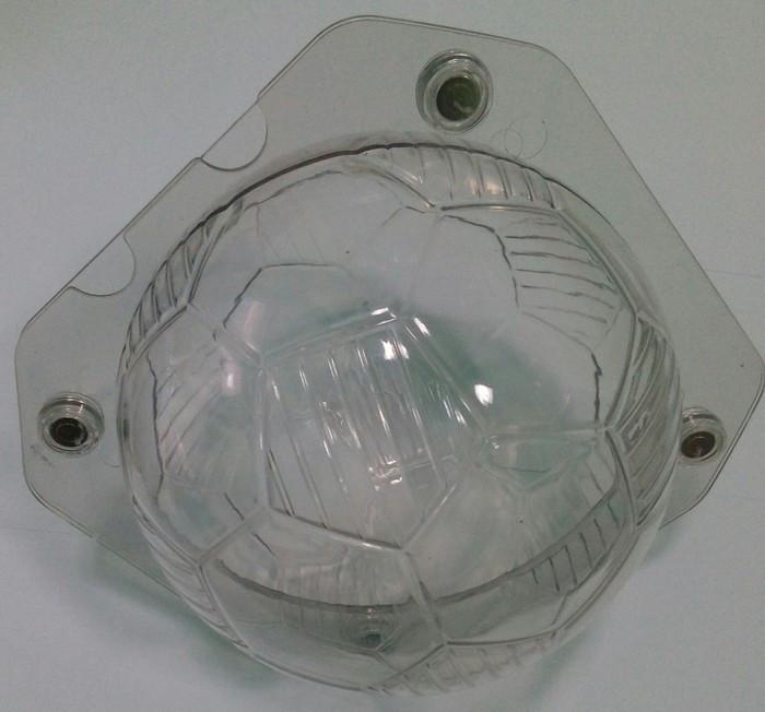 "Форма поликарбонатная для шоколада 3 D ""Мячик"" Ø 150 мм (шт)"