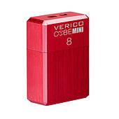USB флеш накопичувач Verico USB 8Gb MiniCube - Red