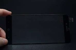 Защитное cтекло полноразмерное для ZTE Nubia Z17 mini  (черное, белое)