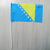 "Флажок ""Боснии и Герцеговины""   Флажки Европы  , фото 1"