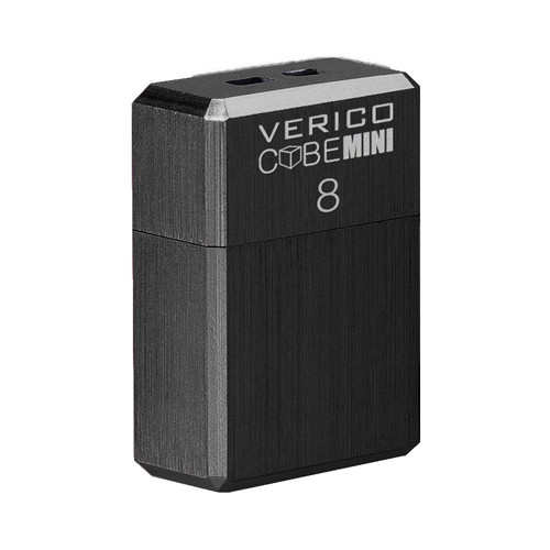 USB-флеш накопитель Verico USB 8Gb MiniCube - Black