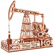 Нефтевышка Wood Trick механический 3D-пазл
