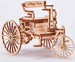Первый автомобиль Wood Trick механический 3D-пазл