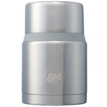 Термос металлический для еды с ложкой Esbit Majoris FJ750SP (0.75л), стальной