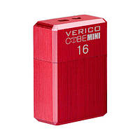 USB флеш накопичувач Verico USB 16Gb MiniCube - Red, фото 1