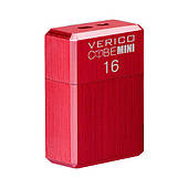 USB флеш накопичувач Verico USB 16Gb MiniCube - Red