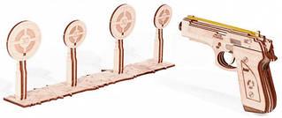Пистолет Wood Trick механический 3D-пазл
