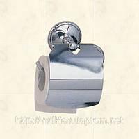 Держатель туалетной бумаги с широкой крышкой