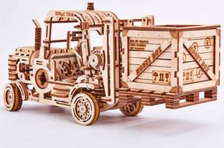 Погрузчик Wood Trick механический 3D-пазл