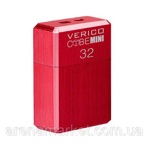 USB флеш накопичувач Verico USB 32Gb MiniCube - Red