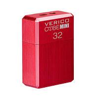 USB флеш накопичувач Verico USB 32Gb MiniCube - Red, фото 1