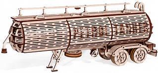 Прицеп цистерна Wood Trick механический 3D-пазл