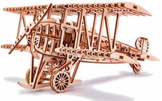 Самолет Wood Trick механический 3D-пазл