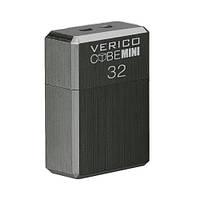 USB флеш накопичувач Verico USB 32Gb MiniCube - Iron Gray, фото 1