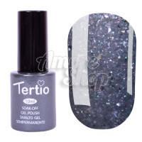 Гель-лак Tertio №175 (серебристый, микроблеск), 10 мл