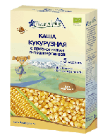 Каша кукурузная детская безглютеновая с пребиотиками гипоаллергенная с 5 месяцев