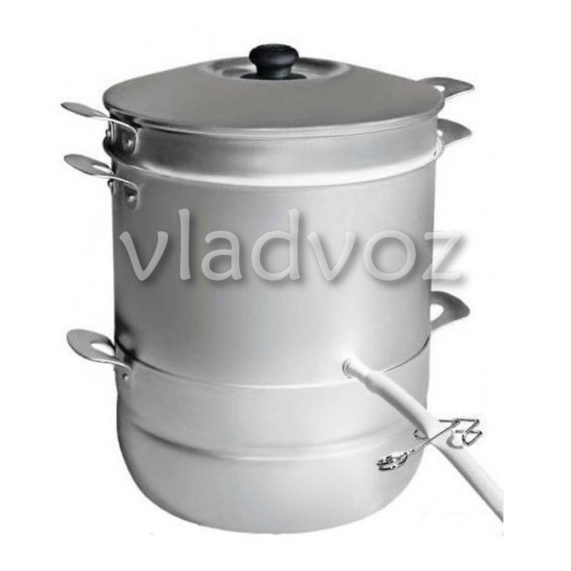 Соковарка алюминиевая на 6 литров