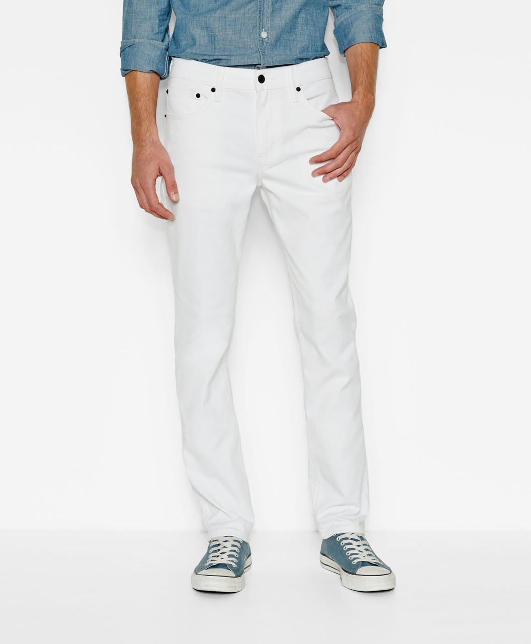 8a7922f651e Мужские джинсы Levis 511™ Slim Fit Jeans (White) белые - купить по ...