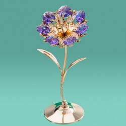 """Фигурка """"Цветок Violet"""" Crystocraft"""