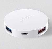 USB 3.0 Hub хаб Orico HA4U мини