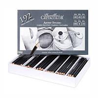 Набір графітних олівців Cretacolor для шкільних занять 192шт 2,8мм (90514099)