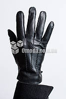 Мужские кожаные перчатки (3 отдел. строчки+внутр рез.)