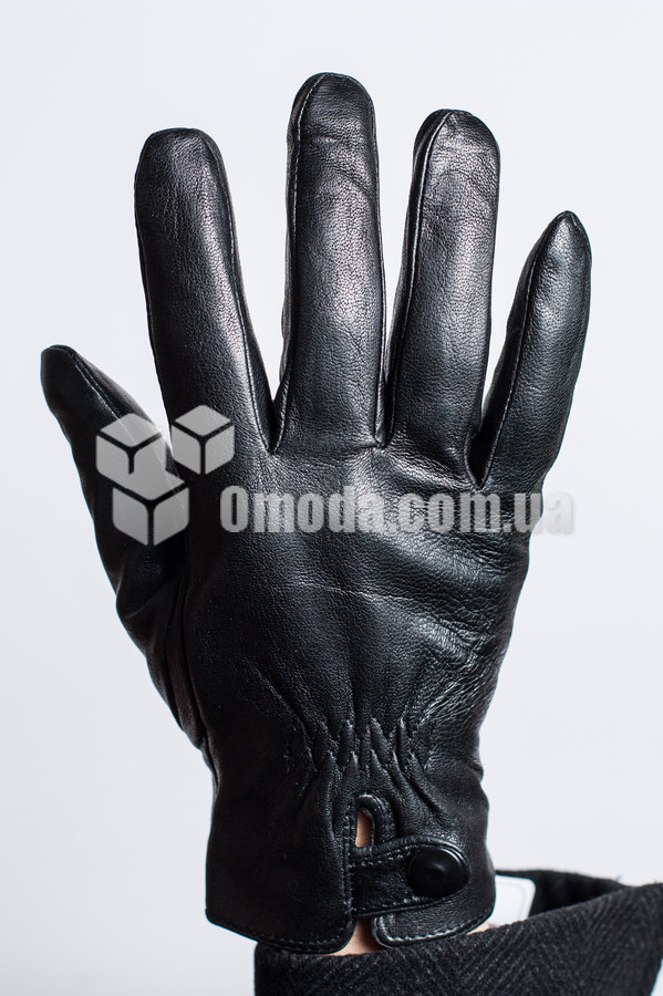 Мужские кожаные перчатки (внешн.внутр.рез.выреззакл)