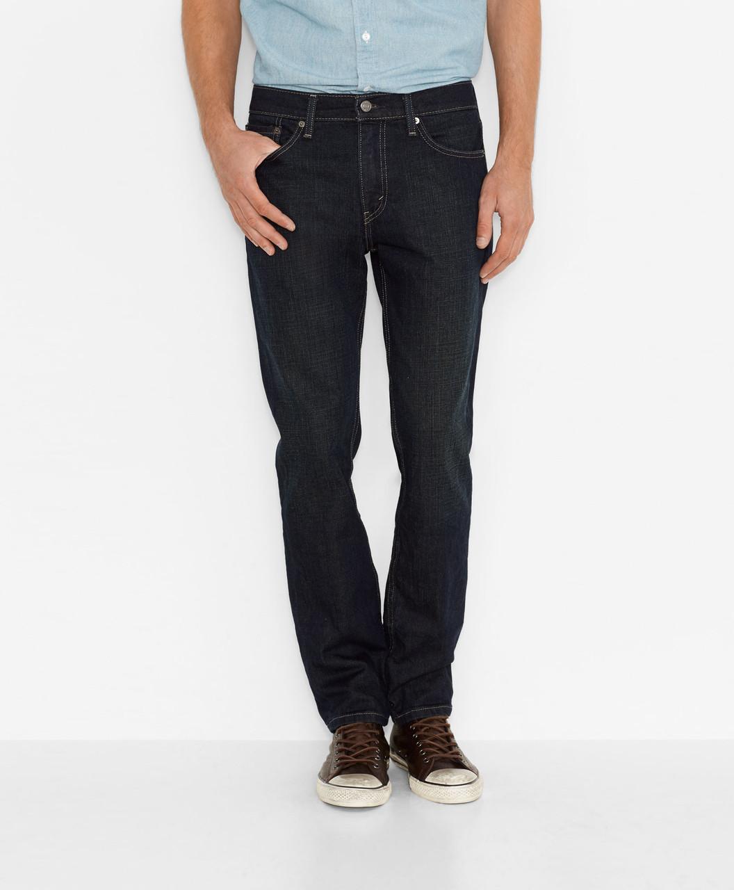 c234bcd44c2 Мужские джинсы Levis 511™ Slim Fit Jeans (Clean Dark) Черные - Интернет-