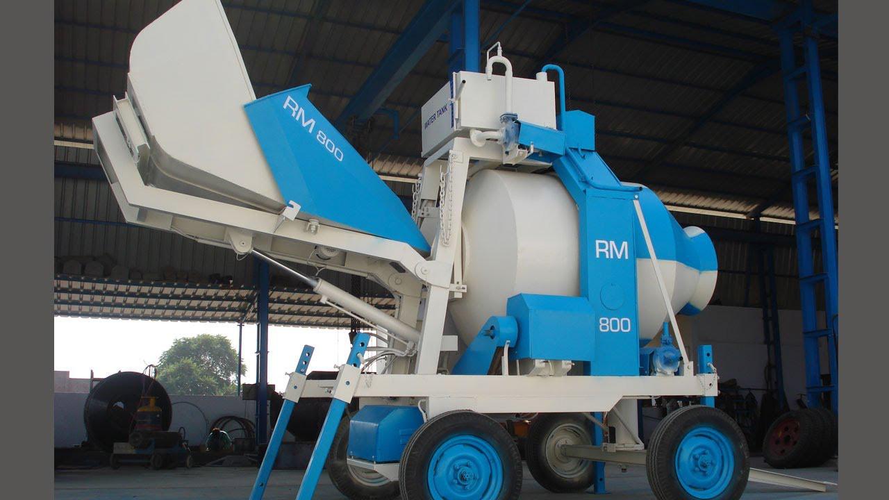 Бетоносмесительная установка RM 800 (Дизель)