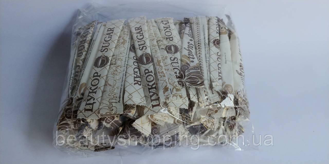 Сахар в стиках 5 грамм 100 шт в упаковке