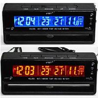 Часы автомобильные VST 7010V (90)