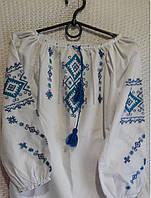 Вышиванка для девочки раз. 128-134-140 Украина, фото 1