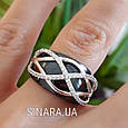 Кольцо из керамики серебро 925 - Серебряное кольцо с керамикой, фото 4
