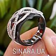 Кольцо из керамики серебро 925 - Серебряное кольцо с керамикой, фото 2