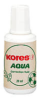 Коригуюча рідина Kores AQUA, водна основа, 20 мл.,з пензликом(K69101)