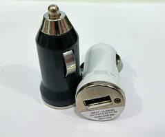 Зарядка автомобильная 12V 1 USB без упаковки